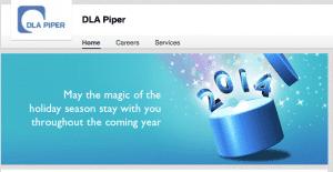 DLA Piper LinkedIn Company Graphic