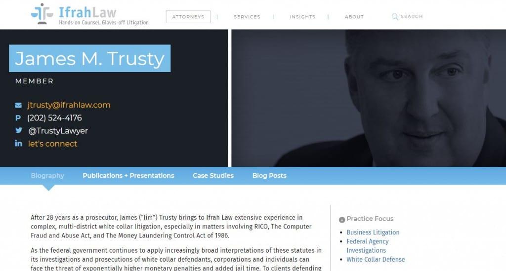Jim Trusty Bio